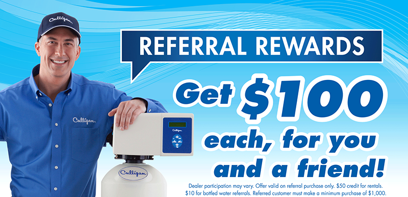 Referral $100 rewards